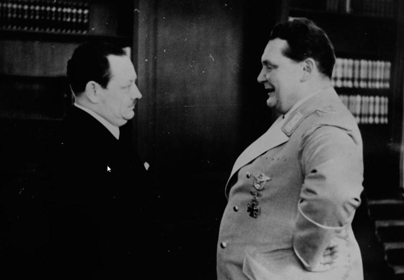 Erich Koch i Hermann Goring /Z archiwum Narodowego Archiwum Cyfrowego