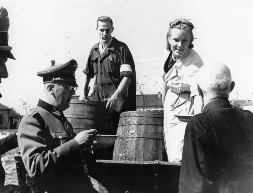 Erich von dem Bach-Zelewski (z lewej) /Getty Images