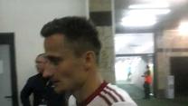 Erik Grendel po meczu z Wisłą Płock (0-1). Wideo