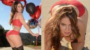 Erika Jordan pozuje na Walentynki w seksownej bieliźnie