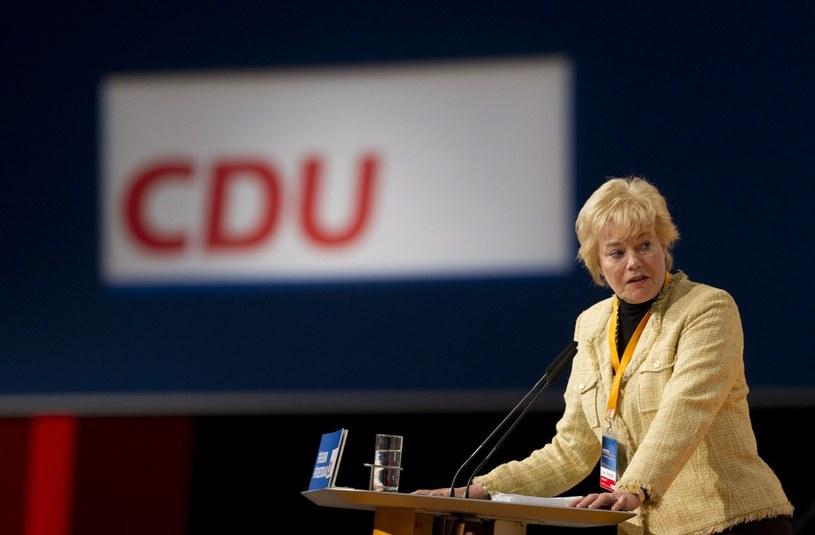 Erika Steinbach rezygnuje z funkcji szefowej niemieckiego Związku Wypędzonych. /AFP