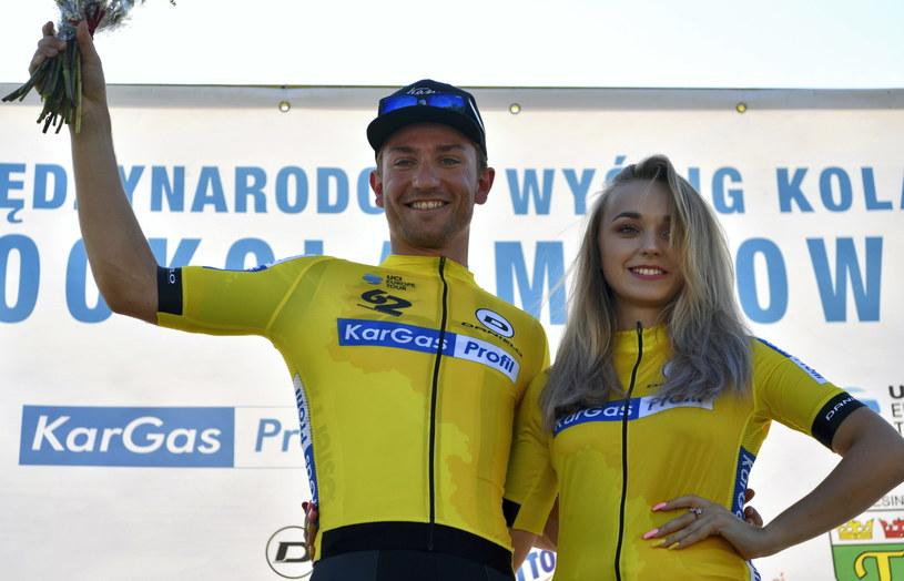 Erlend Blikra na podium /Piotr Nowak /PAP