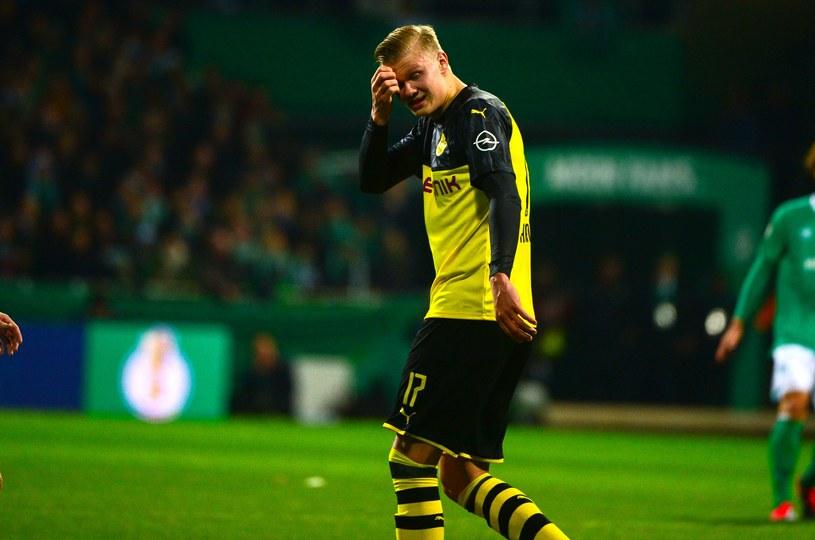 Erling Haaland w Borussii Dortmund /AFP