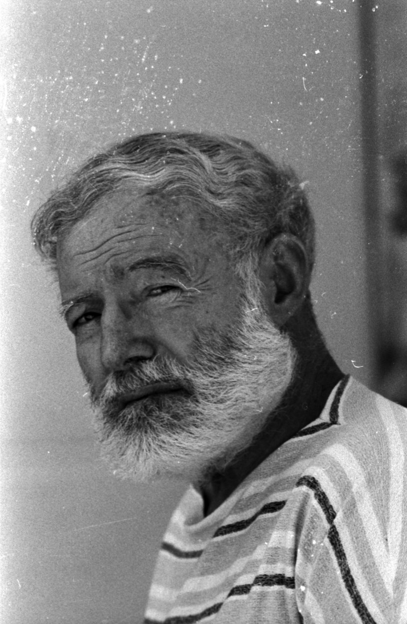 Ernest Hemingway w 1960 roku /Loomis Dean/Time Life Pictures /Getty Images