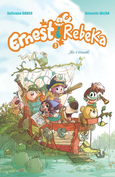 Ernest i Rebeka. Na ratunek! tom 3 /INTERIA.PL/materiały prasowe
