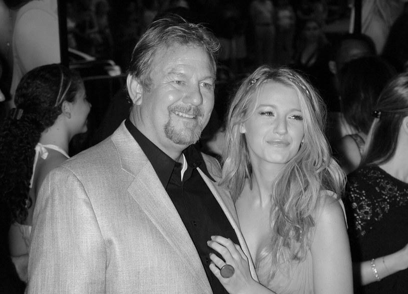 Ernie Lively z córką Blake /Jim Spellman /Getty Images