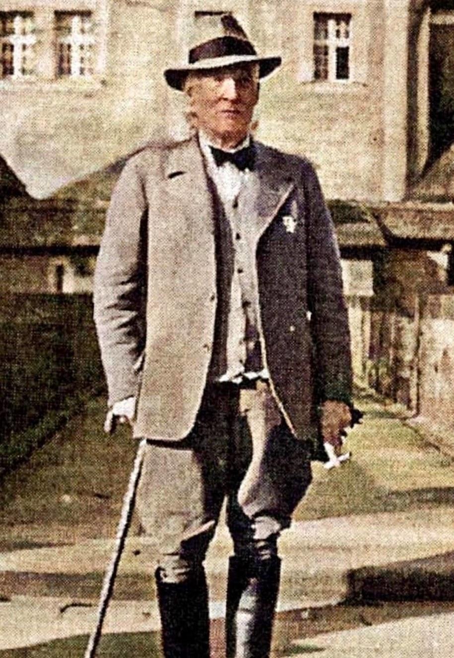 Ernst Guetschow, ostatni właściciel zamku Czocha /Materiały prasowe