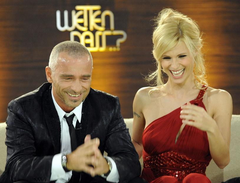Eros Ramazzotti i Michelle Hunziker dziś mają dobre relacje /POOL New /Agencja FORUM
