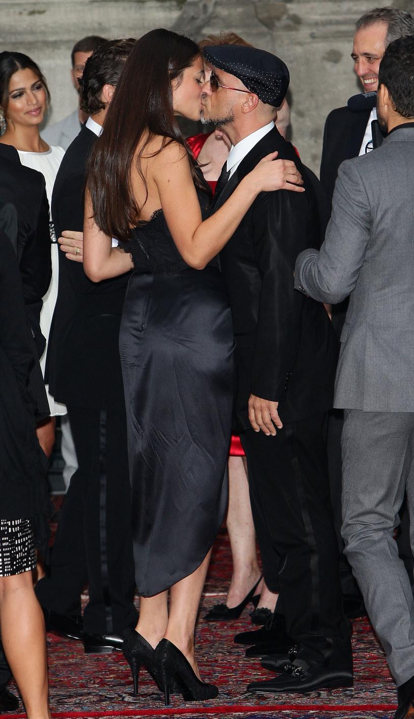 Eros Ramazzotti z żoną /Vittorio Zunino Celotto /Getty Images