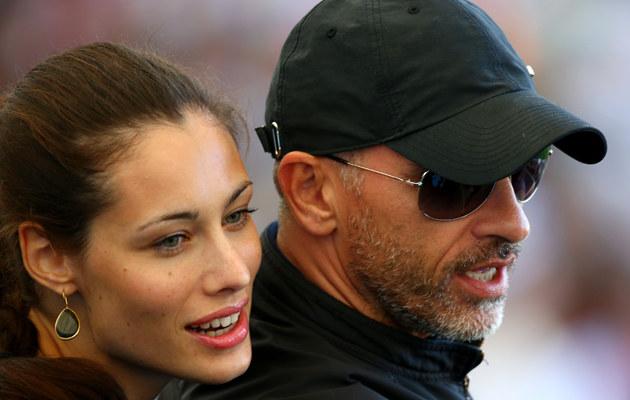 Eros Ramazzotti z żoną /Robert Cianflone /Getty Images