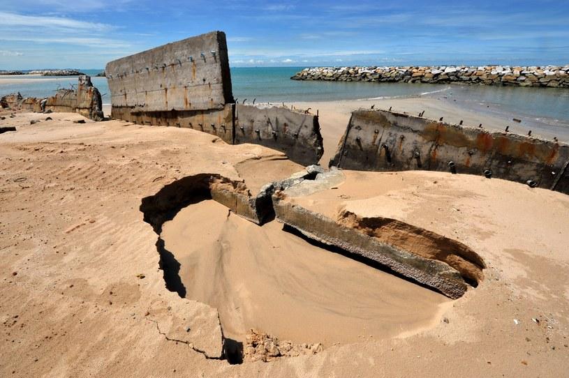 Erozja brzegu w Tajlandii /123/RF PICSEL