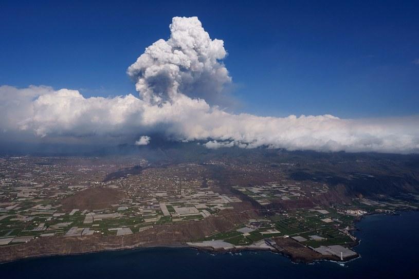 Erupcja wulkanu na La Palmie /AFP