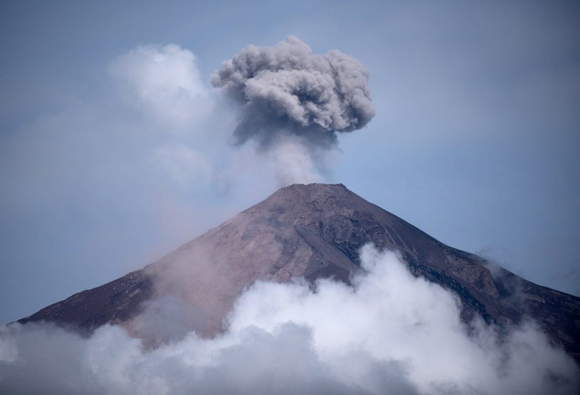 Erupcja Wulkanu Ognia /Santiago Billy /PAP/EPA