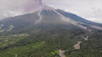 Erupcja wulkanu w Gwatemali