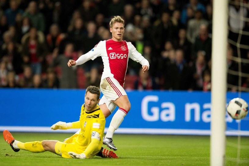 Erwin Mulder w meczu z Ajaksem Amsterdam /AFP