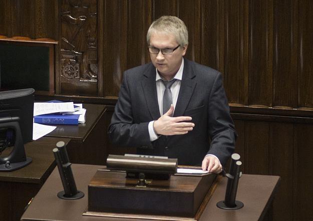 Eryk Łon, członek RPP. Fot. Maciej Łuczniewski /Reporter