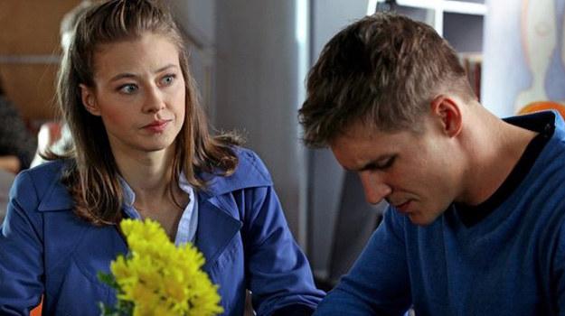 Eryka powie Marcinowi, że jest egoistą. /MTL Maxfilm