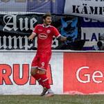 Erzgebirge Aue - Fortuna Duesseldorf 0-3 w 16. kolejce 2. Bundesligi. Gol Dawida Kownackiego