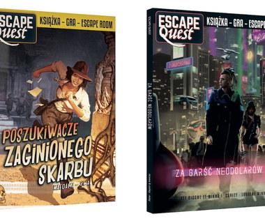 Escape Quest - daj się porwać! Dwie gry książkowe od Egmont Polska