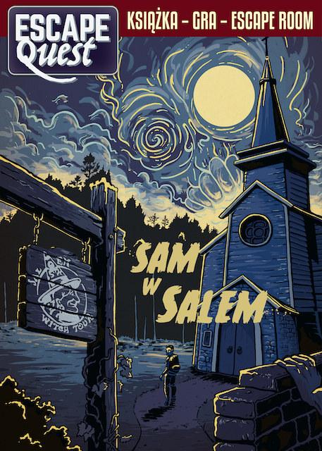 Escape Quest. Sam w Salem /INTERIA.PL/materiały prasowe