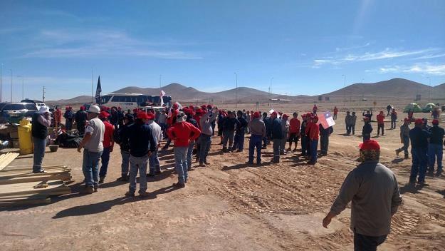 Escondida w Chile strajkuje 2500 osób /AFP