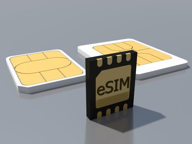 eSIM ma być interesującym rozwiązaniem działającym równolegle to fizycznych kart SIM /123RF/PICSEL