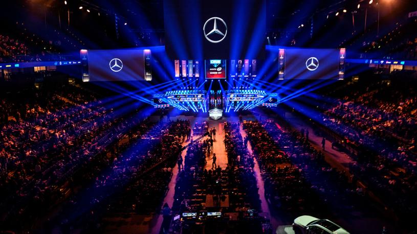 ESL One w hali Barclaycard Arena w Hamburgu, 2017 rok. /materiały prasowe