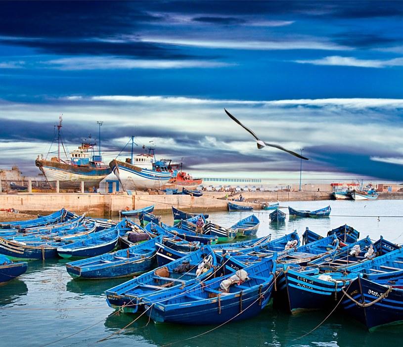 Essaouira nazywana jest miastem niebieskich łodzi /123RF/PICSEL