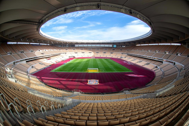 Estadio La Cruja /EFE/Raul Caro  /PAP