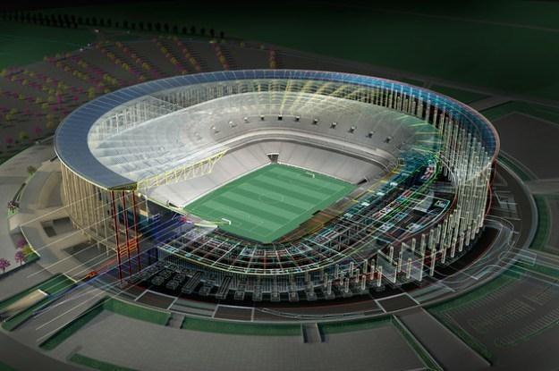 Estádio Nacional de Brasília będzie najnowocześniejszym stadionem świata /materiały prasowe