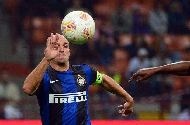 Esteban Cambiasso, piłkarz Interu Mediolan /AFP