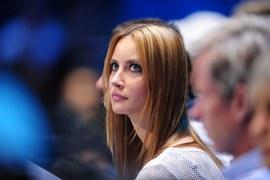 Ester Satorova - piękna partnerka Tomasa Berdycha