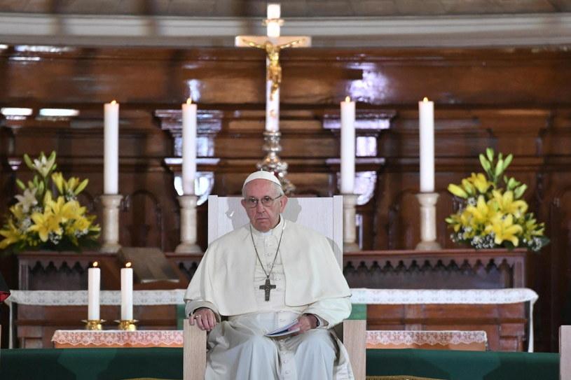 Estonia to ostatni przystanek papieża Franciszka w podróży po krajach bałtyckich /ALESSANDRO DI MEO /PAP/EPA