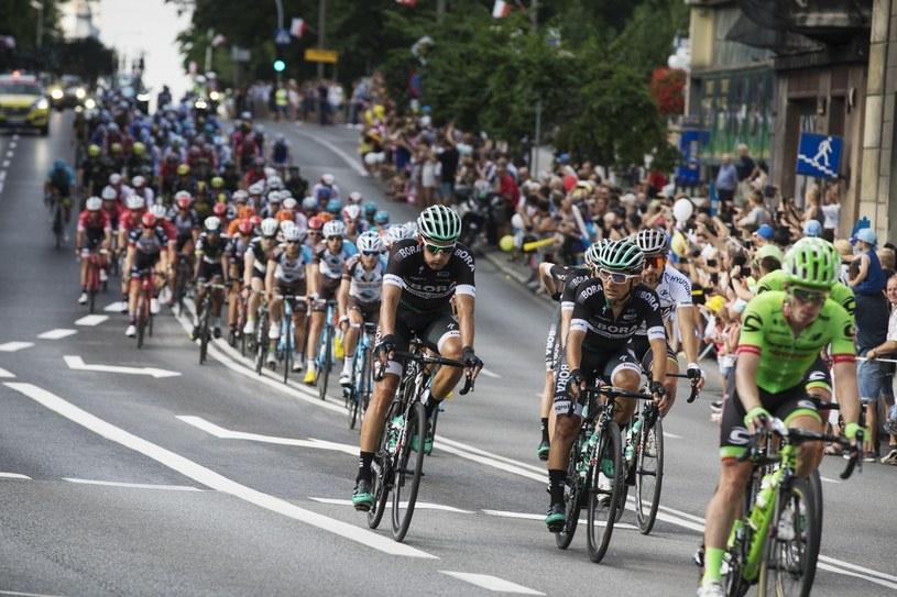Etap 74. Tour de Pologne w Bielsku-Białej /Łukasz Zakrzewski /East News