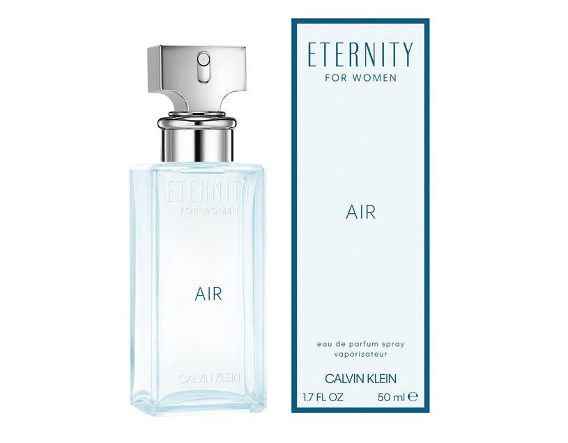 Eternity Air Calvin Klein dla kobiet /materiały prasowe