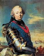 Etienne François de Choiseul, portret pędzla Michela Van Loo /Encyklopedia Internautica