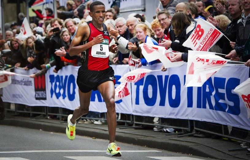 Etiopczyk Yemane Adhane /AFP