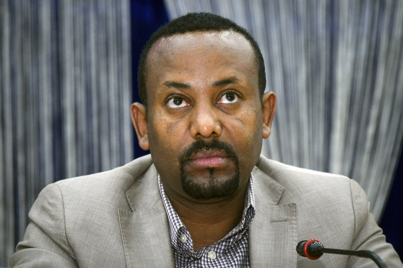 Etiopski premier Ahmed Abiy /ALEXEY NIKOLSKY / SPUTNIK / KREMLIN POOL /PAP/EPA