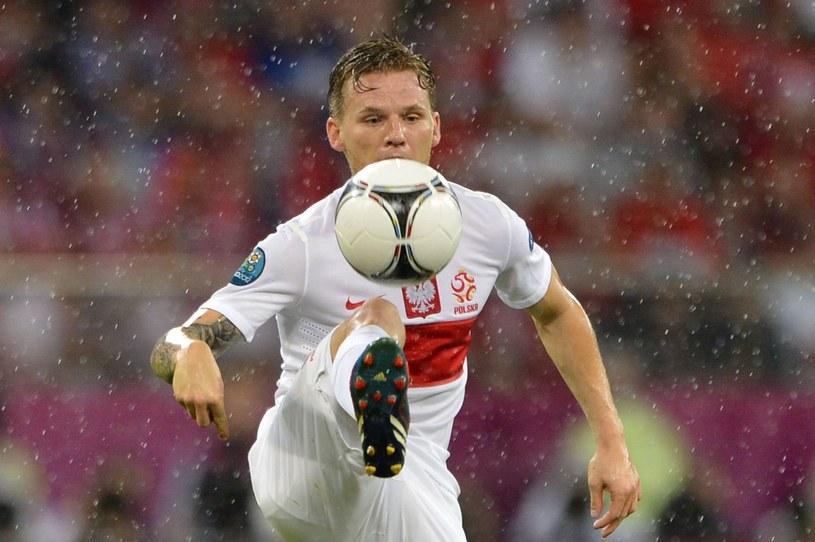Eugen Polanski grał w reprezentacji Polski m.in. na Euro 2012 /AFP
