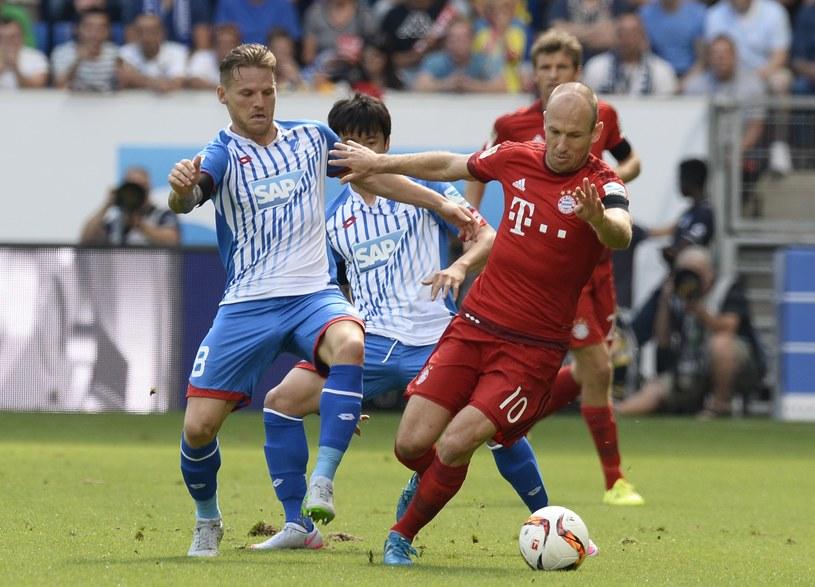 Eugen Polanski i Arjen Robben /AFP