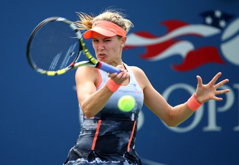 Eugenie Bouchard pokonała Kristinę Mladenovic /AFP