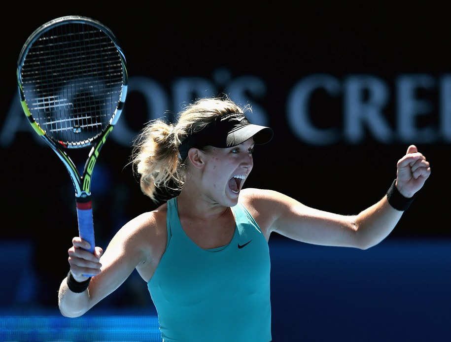 Eugenie Bouchard /Mark Dadswell /PAP/EPA