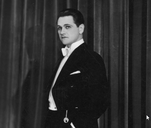 Eugeniusz Bodo. Zdjęcie z lat 30. ubiegłego stulecia /Archiwum Narodowe w Krakowie