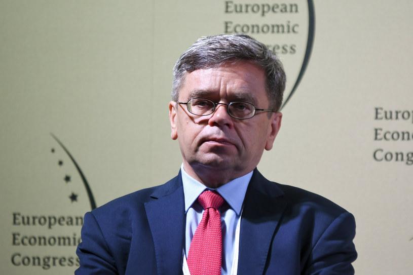Eugeniusz Gatnar, członek RPP /Michał Dubiel /Reporter