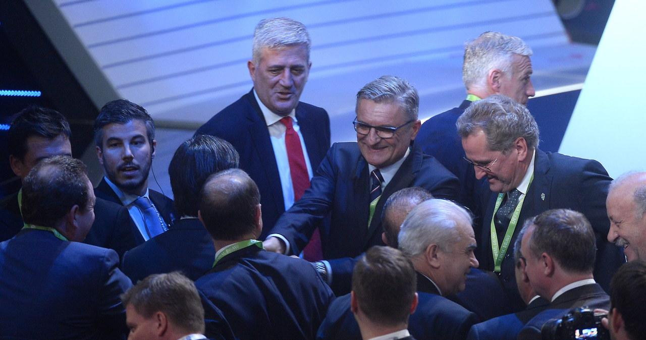Euro 2016: Ceremonia losowania grup w obiektywie