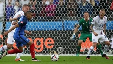 Euro 2016. Zobacz gole meczu Francja - Islandia!
