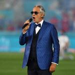 Euro 2020: Andrea Bocelli wystąpił na otwarcie mistrzostw