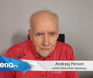 Euro 2020. Andrzej Person: Trzeba było trzy lata temu zostawić Adama Nawałkę. Ja bym tak zrobił. Wideo