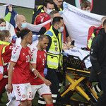 Euro 2020. Christian Eriksen reanimowany, miał atak serca. Potworna wtopa dziennikarki TVP na wizji
