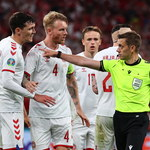 Euro 2020. Dania 4-1 Rosja. Dwa poważne błędy arbitra, który zaliczył słaby występ